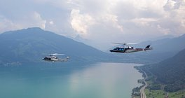 AW139 & AW109 Formation Flight